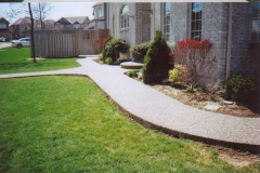 exposed aggregate walkway - 4 SONS CONCRETE DESIGN