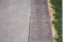 Stamped Concrete - FlowerBed - 4 SONS CONCRETE DESIGN