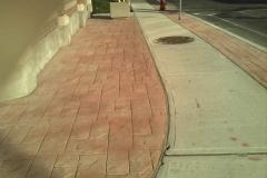 stamped-walk-way- 4 SONS CONCRETE DESIGN