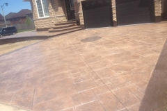 stamped-driveway- 4 Sons Concrete Design