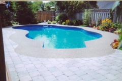 exposed aagregate pool - 4 SONS CONCRETE DESIGN
