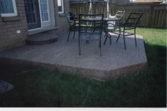 exposed aggregate patios - 4 SONS CONCRETE DESIGN
