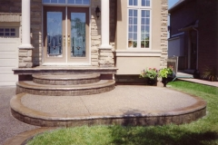 exposed aggregate porches - 4 SONS CONCRETE DESIGN