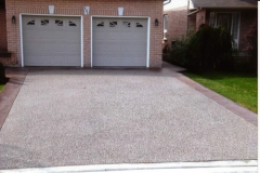 Exposed Aggregate - Drive Way- 4 SONS CONCRETE DESIGN