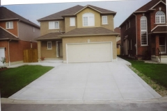 plain concrete driveway - 4 SONS CONCRETE DESIGN