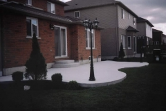 plain concrete patios - 4 SONS CONCRETE DESIGN
