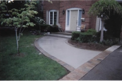 plain concrete walkway - 4 SONS CONCRETE DESIGN